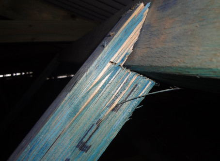 Pre purchase building inspections in Perth - case study on structural defects in timber roof frame