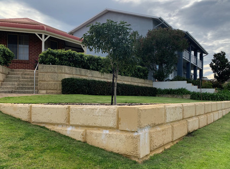 Perth retaining wall inspection, design guidance, structural engineering details & construction