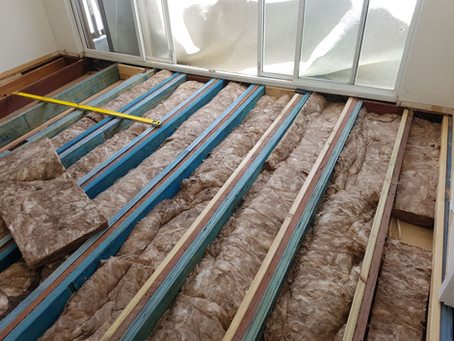 Perth building inspections - case study - suspended timber floor structural problems - renovation