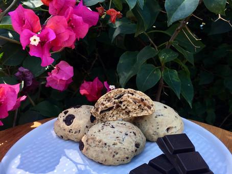Cookies briochés végan au chocolat