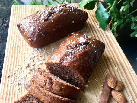 Banana bread choco/coco