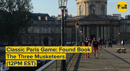 May 1 Virtual Walk - Classic Paris Game: Found Book