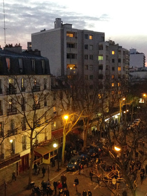 Over and Under the Rooftops of Paris