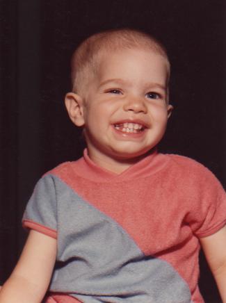 Mariah - June 1981, during chemo