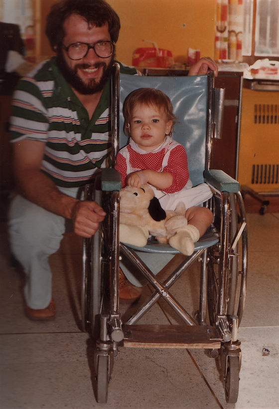 June 1980 - Hospitalization for first su