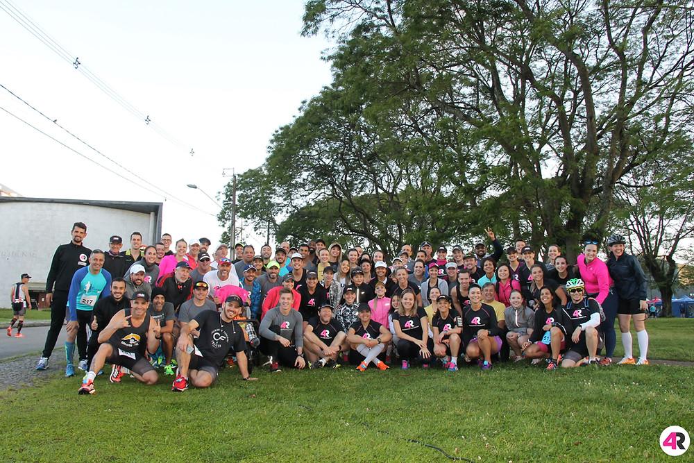 4Run Assessoria na Maratona de Curitiba 2017
