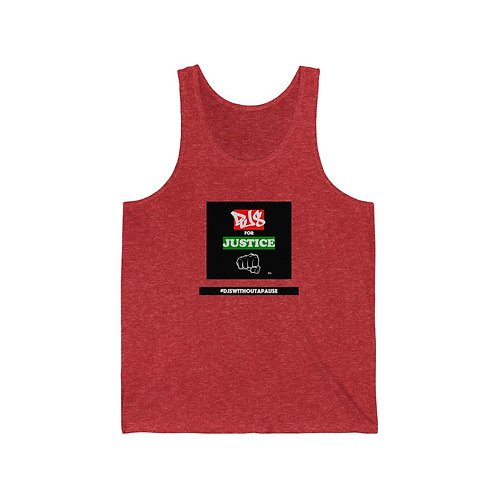 """""""DJs For Justice"""" Men's Soft style Tank Top"""