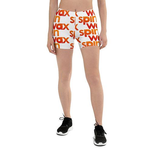 Classic Spin Wax Logo Biker Shorts