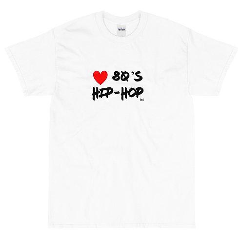 """SW """"Love 80's Hip Hop"""" Short Sleeve T-Shirt"""