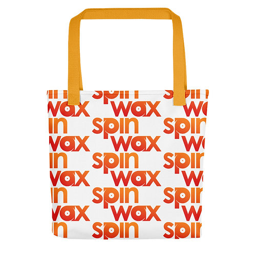 """Spin Wax Classic """"Busy"""" Tote bag"""