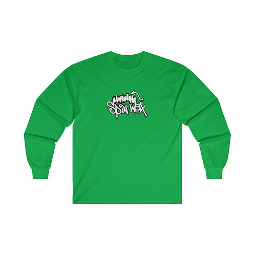"""Spin Wax """"Philly"""" Ultra Cotton Long Sleeve Tee"""