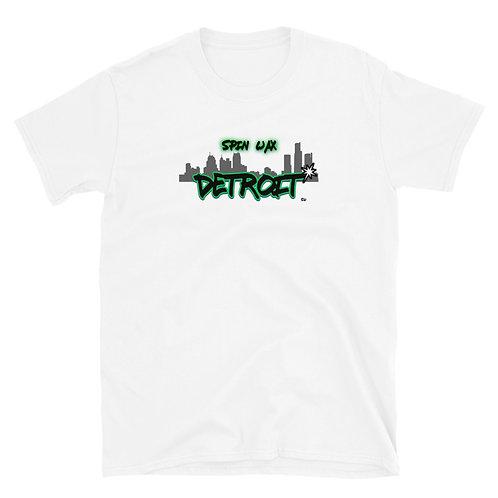 """Spin Wax """"Detroit Represent"""" Short-Sleeve Unisex T-Shirt"""