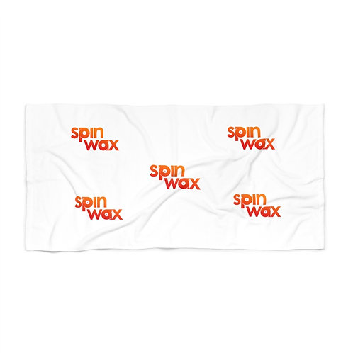 Spin Wax Classic Beach Towel