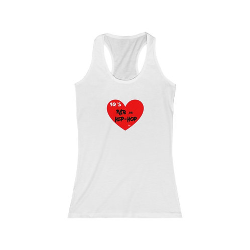 "SW ""Love 90's Hip Hop and R&B"" Women's Fit Racerback Tank"