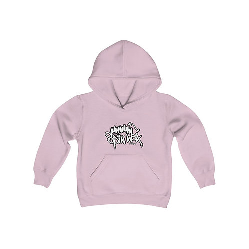 "Youth Heavy ""Rep City White Logo"" Blend Hooded Sweatshirt"