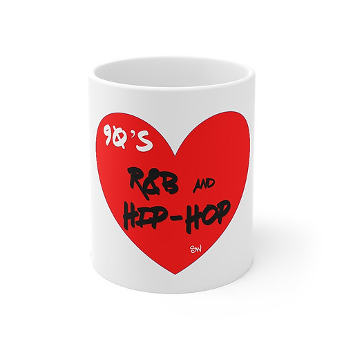 "SW ""Love Hip Hop and R&B"" Mug 11oz"