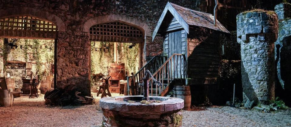 Take a look at the future plans for Gwrych Castle and see the full I'm A Celebrity set...