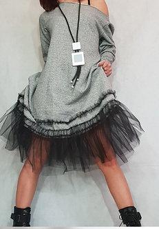 The Tulle Tee Shirt Dress