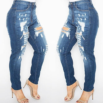 The Distressed Jeans