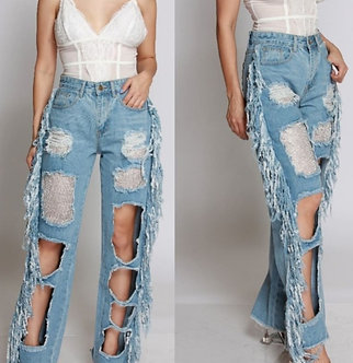 The Diva Distressed Jeans