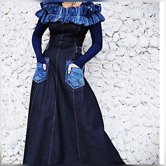Main Attraction Denim Dress