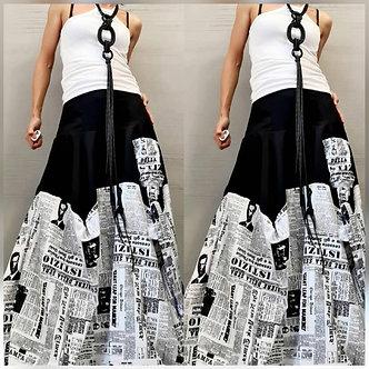 The Newspaper Skirt