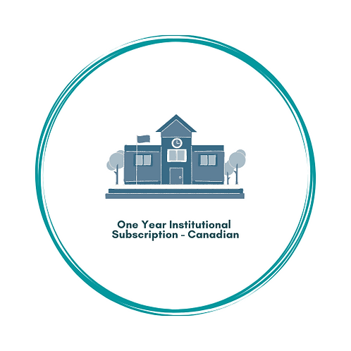 One-Year Institutional Subscription (Canada)