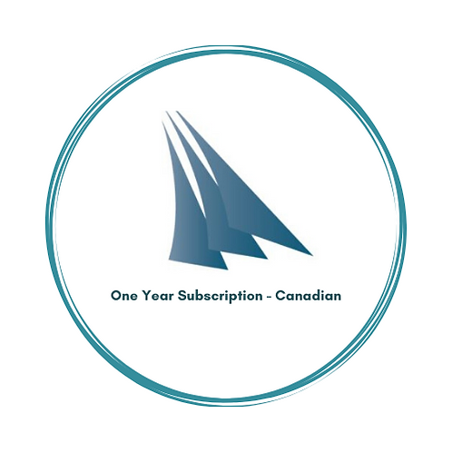 1 Year Individual Subscription      Abonnement individuel d'un an Canada