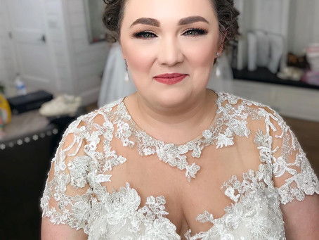 Your Wedding Dress Neckline and Hairstyle