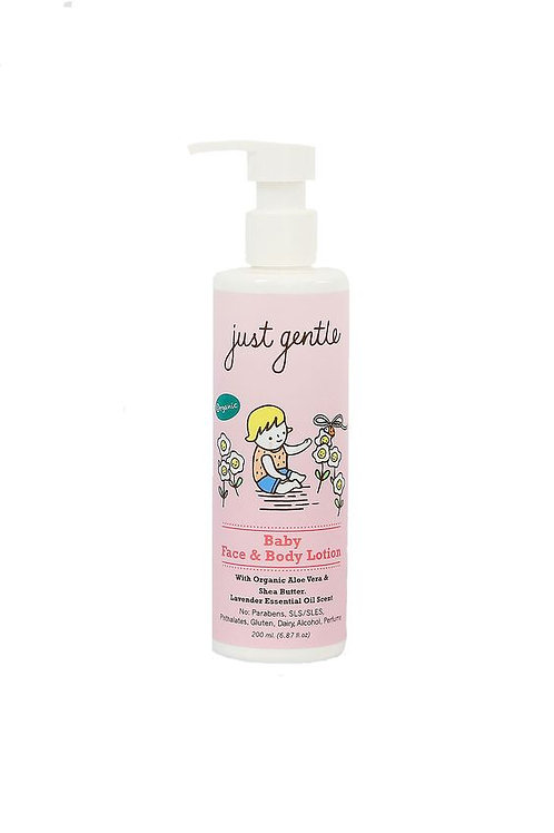 Just Gentle Baby Face & Body Lotion