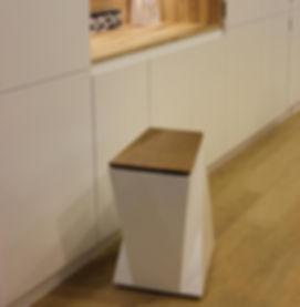 Cubo de basura de diseño