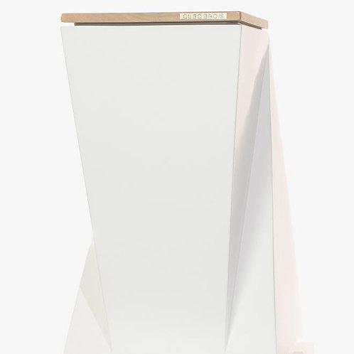 Decorative waste bin. Model DESIGN.me white:oak