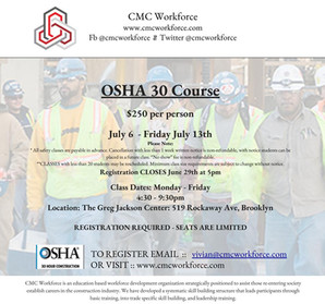 OSHA 30 Certified Training