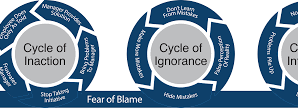Moving from a blame culture to a learning from failure culture