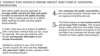NYCHA's PACT with HUD's RAD