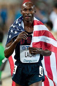 Bernard Lagat...41 and still fast!