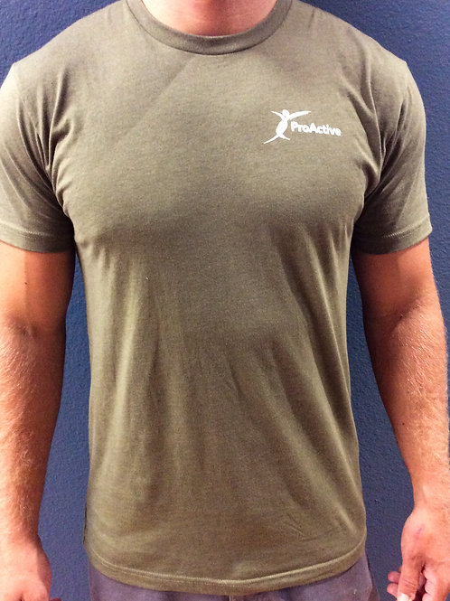 Men's ProActive T-Shirt in Military Green