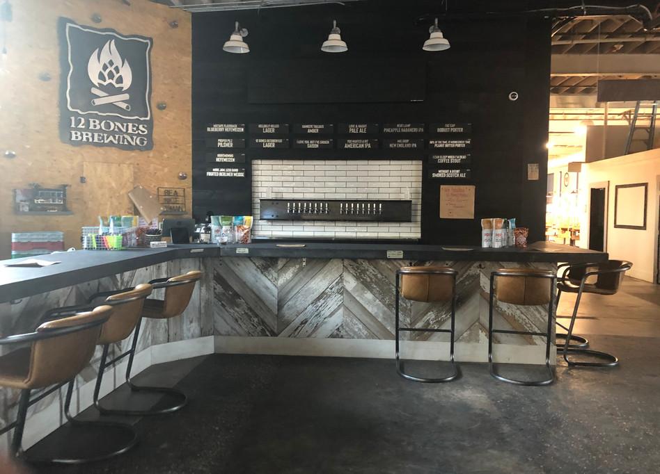 Bar at 12 Bones