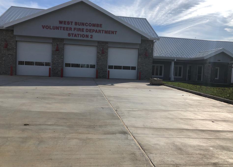 West Buncombe Volunteer Fire Department
