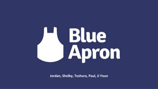 BLUE APRON / COMING SOON