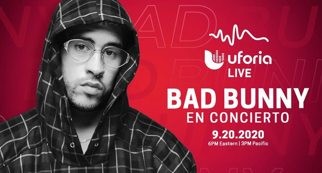 BAD BUNNY - LIVE CONCERT / COMING SOON