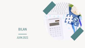 Bilan de juin 2021