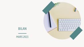 Bilan de mars 2021
