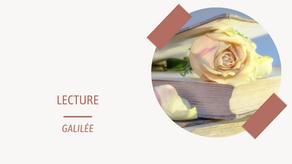 CHRONIQUE : Galilée, Lily Haime