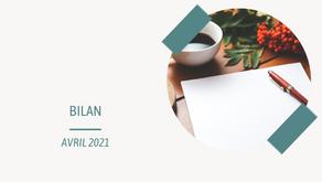 Bilan d'avril 2021