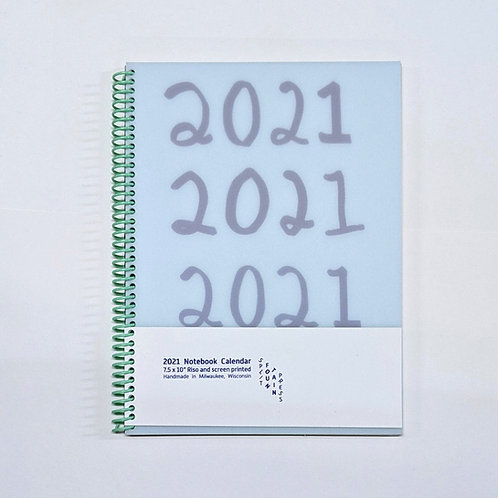 2021 Notebook Calendar