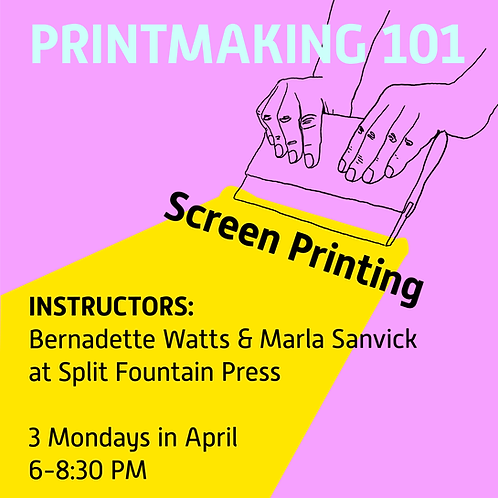 PRINTMAKING 101: Screen Printing
