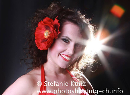Kreativ-Fotoshooting mit der wunderbaren Stefanie Kunz