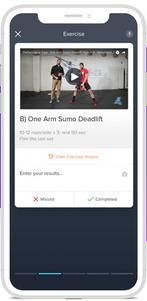 Step 1: Access workout tutorials
