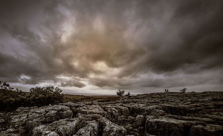 nublado paisaje